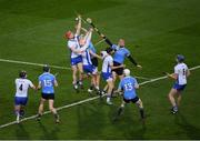 4 March 2017; Waterford defenders including Tadhg de Burca and Dublin forwards led by Ryan O'Dwyer in action during the Allianz Hurling League Division 1A Round 3 match between Dublin and Waterford at Croke Park in Dublin. Photo by Ray McManus/Sportsfile
