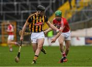 5 March 2017; Jason Cleere of Kilkenny in action against Daniel Kearney of Cork during the Allianz Hurling League Division 1A Round 3 match between Kilkenny and Cork at Nowlan Park in Kilkenny. Photo by Ray McManus/Sportsfile