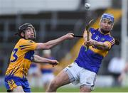 5 March 2017; John McGrath of Tipperary in action against Shane McNamara of Clare during the Allianz Hurling League Division 1A Round 3 match between Tipperary and Clare at Semple Stadium in Thurles, Co Tipperary. Photo by Matt Browne/Sportsfile