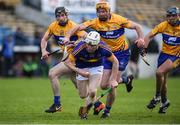 5 March 2017; Paul Flynn of Tipperary in action against Cian Dillon of Clare during the Allianz Hurling League Division 1A Round 3 match between Tipperary and Clare at Semple Stadium in Thurles, Co Tipperary. Photo by Matt Browne/Sportsfile