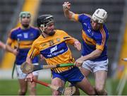 5 March 2017; Paul Flynn of Tipperary in action against Ian Galvin of Clare during the Allianz Hurling League Division 1A Round 3 match between Tipperary and Clare at Semple Stadium in Thurles, Co Tipperary. Photo by Matt Browne/Sportsfile