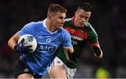 4 March 2017; Ciarán Kilkenny of Dublin in action against Stephen Coen of Mayo during the Allianz Football League Division 1 Round 4 match between Dublin and Mayo at Croke Park in Dublin. Photo by Brendan Moran/Sportsfile