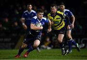 4 March 2017; Luke McGrath of Leinster during the Guinness PRO12 Round 17 match between Leinster and Scarlets at the RDS Arena in Ballsbridge, Dublin. Photo by Ramsey Cardy/Sportsfile