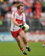 17 July 2011; Sean Leo McGoldrick, Derry. Ulster GAA Football Senior Championship Final, Derry v Donegal, St Tiernach's Park, Clones, Co. Monaghan. Picture credit: Brendan Moran / SPORTSFILE