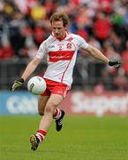 17 July 2011; Sean Leo McGoldrick, Derry. Ulster GAA Football Senior Championship Final, Derry v Donegal, St Tiernach's Park, Clones, Co. Monaghan. Picture credit: Brendan Moran / SPORTSFILE