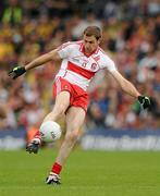 17 July 2011; Enda Muldoon, Derry. Ulster GAA Football Senior Championship Final, Derry v Donegal, St Tiernach's Park, Clones, Co. Monaghan. Picture credit: Brendan Moran / SPORTSFILE