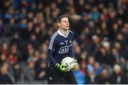 4 March 2017; Stephen Cluxton of Dublin during the Allianz Football League Division 1 Round 4 match between Dublin and Mayo at Croke Park in Dublin. Photo by David Fitzgerald/Sportsfile