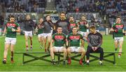 4 March 2017; The Mayo run out for the team photo ahead of the Allianz Football League Division 1 Round 4 match between Dublin and Mayo at Croke Park in Dublin. Photo by David Fitzgerald/Sportsfile