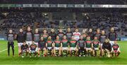 4 March 2017; The Mayo squad pose for photo ahead of the Allianz Football League Division 1 Round 4 match between Dublin and Mayo at Croke Park in Dublin. Photo by David Fitzgerald/Sportsfile