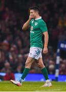 10 March 2017; Conor Murray of Ireland leaves the pitch with an injury during the RBS Six Nations Rugby Championship match between Wales and Ireland at the Principality Stadium in Cardiff, Wales. Photo by Brendan Moran/Sportsfile
