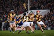 11 March 2017; Noel McGrath of Tipperary in action against T.J Reid, left, Conor Fogarty, 5, and Cillian Buckley of Kilkenny during the Allianz Hurling League Division 1A Round 4 match between Tipperary and Kilkenny at Semple Stadium in Thurles, Co. Tipperary. Photo by Ray McManus/Sportsfile