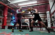 14 March 2017; Andy Lee during a workout session at Mendez Boxing Gym in New York, USA. Photo by Ramsey Cardy/Sportsfile