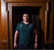 16 March 2017; Jack McGrath poses for a portrait before an Ireland rugby press conference at Carton House in Maynooth, Co Kildare. Photo by Stephen McCarthy/Sportsfile