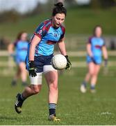 11 March 2017; Lisa Fallon of GMIT during the Lagan Cup Final match between Galway-Mayo Institute of Techology and University of Ulster Coleraine at Connacht Gaelic Athletic Association Centre of Excellence in Cloonacurry, Knock, Co. Mayo. Photo by Matt Browne/Sportsfile