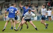 17 March 2017; Eamon Kelly of St. Mary's Grammar School  in action against Ryan Garvey of St. Colman's College during the Danske Bank MacRory Cup Final 2017 match between St. Colman's College Newry Co Down and St. Mary's Grammar School Magherafelt Co Derry at Athletic Grounds in Armagh. Photo by Oliver McVeigh/Sportsfile