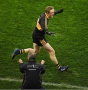 17 March 2017; Colm Cooper of Dr. Crokes and manager Pat O'Shea celebrate at the final whistle the AIB GAA Football All-Ireland Senior Club Championship Final match between Dr. Crokes and Slaughtneil at Croke Park in Dublin.   Photo by Ray McManus/Sportsfile
