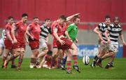 17 March 2017; Ben Healy of Glenstal Abbey during the Clayton Hotels Munster Schools Senior Cup Final match between Glenstal Abbey and Presentation Brothers Cork at Thomond Park in Limerick. Photo by Diarmuid Greene/Sportsfile