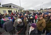 18 March 2017; Supporters queue outside Austin Stack Park over two hours before the Allianz Football League Division 1 Round 5 match between Kerry and Dublin at Austin Stack Park in Tralee, Co Kerry. Photo by Diarmuid Greene/Sportsfile