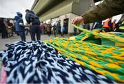 18 March 2017; A general view of merchandise for sale as supporters make their way into Austin Stack Park over two hours before the Allianz Football League Division 1 Round 5 match between Kerry and Dublin at Austin Stack Park in Tralee, Co Kerry. Photo by Diarmuid Greene/Sportsfile