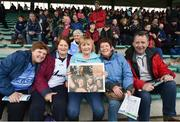 18 March 2017; Dublin supporters Brenda Byrne, Linda Coventry, Dolores Caffrey, Helen Walsh and Michael Walsh, all from Blanchardstown, Dublin, before the Allianz Football League Division 1 Round 5 match between Kerry and Dublin at Austin Stack Park in Tralee, Co Kerry. Photo by Diarmuid Greene/Sportsfile