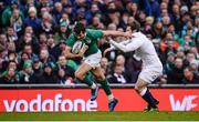 18 March 2017; Jared Payne of Ireland is tackled by Elliot Daly of England during the RBS Six Nations Rugby Championship match between Ireland and England at the Aviva Stadium in Lansdowne Road, Dublin. Photo by Sam Barnes/Sportsfile