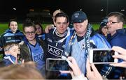 18 March 2017; Dublin goalkeeper Stephen Cluxton poses for photographs with supporters after the Allianz Football League Division 1 Round 5 match between Kerry and Dublin at Austin Stack Park in Tralee, Co Kerry. Photo by Diarmuid Greene/Sportsfile