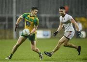 18 March 2017; Eoghan Ban Gallagher of Donegal  in action against Pádraig Hampsey of Tyrone  during the Allianz Football League Division 1 Round 5 match between Donegal and Tyrone at MacCumhaill Park in Ballybofey, Co Donegal. Photo by Oliver McVeigh/Sportsfile