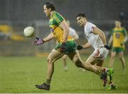 18 March 2017; Michael Murphy of Donegal in action against Tiernan McCann of Tyrone during the Allianz Football League Division 1 Round 5 match between Donegal and Tyrone at MacCumhaill Park in Ballybofey, Co Donegal. Photo by Oliver McVeigh/Sportsfile