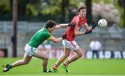 19 March 2017; Mark Collins of Cork in action against Pauric Harnan of Meath during the Allianz Football League Division 2 Round 5 match between Cork and Meath at Páirc Uí Rinn in Cork. Photo by Matt Browne/Sportsfile