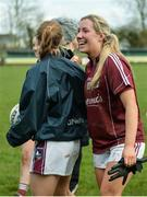 19 March 2017; Galway players including Megan Glynn of Galway following the Lidl Ladies Football national league Round 5 match between Galway and Kerry at Corofin GAA Club in Corofin, Co. Galway. Photo by Sam Barnes/Sportsfile