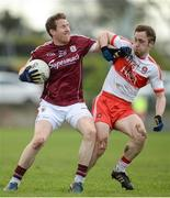 19 March 2017; Gary Sice of Galway in action against Neil Forester of Derry during the Allianz Football League Division 2 Round 5 match between Galway and Derry at St. Jarlath's Park in Tuam, Co Galway. Photo by Sam Barnes/Sportsfile