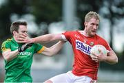 19 March 2017; Ruairi Deane of Cork in action against Willie Carry of Meath during the Allianz Football League Division 2 Round 5 match between Cork and Meath at Páirc Uí Rinn in Cork. Photo by Matt Browne/Sportsfile