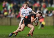 19 March 2017; Stephen Sheridan of Armagh in action against Gerard McSorley of Louth during the Allianz Football League Division 3 Round 5 match between Louth and Armagh at the Gaelic Grounds in Drogheda, Co Louth. Photo by Eóin Noonan/Sportsfile