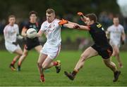 19 March 2017; Jim McEneaney of Louth in action against Charlie Vernon of Armagh during the Allianz Football League Division 3 Round 5 match between Louth and Armagh at the Gaelic Grounds in Drogheda, Co Louth. Photo by Eóin Noonan/Sportsfile