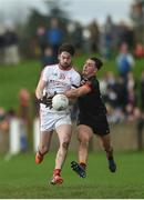 19 March 2017; Eoin O'Connor of Louth in action against Stephen Sheridan of Armagh during the Allianz Football League Division 3 Round 5 match between Louth and Armagh at the Gaelic Grounds in Drogheda, Co Louth. Photo by Eóin Noonan/Sportsfile