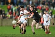 19 March 2017; Eoin O'Connor of Louth in action against Ben Crealey of Armagh during the Allianz Football League Division 3 Round 5 match between Louth and Armagh at the Gaelic Grounds in Drogheda, Co Louth. Photo by Eóin Noonan/Sportsfile