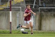 19 March 2017; Shane Walsh of Galway celebrates after scoring his sides fifth goal during the Allianz Football League Division 2 Round 5 match between Galway and Derry at St Jarlath's Park in Tuam, Co Galway. Photo by Sam Barnes/Sportsfile