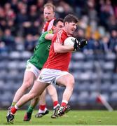 19 March 2017; Kevin Crowley of Cork in action against James McEntee of Meath during the Allianz Football League Division 2 Round 5 match between Cork and Meath at Páirc Uí Rinn in Cork. Photo by Matt Browne/Sportsfile