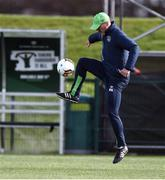 20 March 2017; Republic of Ireland assistant manager Roy Keane in action during Republic of Ireland Squad Training at FAI National Training Centre in Abbotstown Co. Dublin. Photo by David Maher/Sportsfile