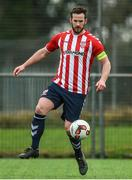 6 February 2017; Ryan McBride of Derry City during a pre-season friendly match between UCD and Derry City at the AUL Complex, Clonshaugh, Dublin. Derry City captain Ryan McBride passed away suddenly at the age of 27. Photo by David Maher/Sportsfile