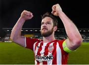 10 March 2017; Ryan McBride of Derry City after the SSE Airtricity League Premier Division match between Shamrock Rovers and Derry City at Tallaght Stadium in Tallaght, Dublin. Derry City captain Ryan McBride passed away suddenly at the age of 27. Photo by Matt Browne/Sportsfile