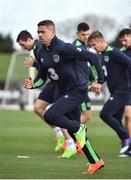 20 March 2017; Jonathan Walters of Republic of Ireland during squad training at FAI National Training Centre in Abbotstown Co. Dublin. Photo by David Maher/Sportsfile