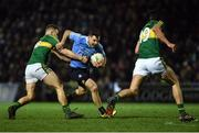 18 March 2017; Kevin McManamon of Dublin in action against Peter Crowley of Kerry during the Allianz Football League Division 1 Round 5 match between Kerry and Dublin at Austin Stack Park in Tralee, Co Kerry. Photo by Diarmuid Greene/Sportsfile