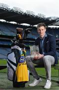 21 March 2017; The 18th annual All-Ireland GAA Golf Challenge was officially launched in GAA headquarters today by KN Group Managing Director Damien Gallagher, inter-county managers Derek McGrath of Waterford and Mickey Harte of Tyrone and 2016 hurler and young hurler of the year Austin Gleeson among other GAA personalities including Challenge patron and Kilkenny legend Eddie Keher. The organisers of the KN Group All-Ireland GAA Golf Challenge are delighted to announce that this year's event takes place at the impressive Gold Coast Hotel and Golf Resort and Dungarvan Golf Club on September 8 and 9. Pictured at the launch is Waterford hurler Austin Gleeson. Photo by Brendan Moran/Sportsfile