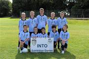 28 August 2011; The Dublin team, back row, left to right, Aran Teehan, St. Patrick's B.N.S., Rathangan, Co. Kildare, Conor Dunne, Cappagh N.S., Rhode, Co. Offaly, Darragh Gibbons, St. Colmcille's S.N.S., Knocklyon, Co. Dublin, Conor Tierney, St. Mary's P.S., Mullaghbawn, Co. Armagh, Kevin Forde, St. Patrick's B.N.S., Rathangan, Co. Kildare, front row, left to right, James Dunne, Walsh Island N.S., Co. Offaly, Shea Gerraghty, Lurgan Model, Lurgan, Co. Armagh, Seán McManamon, Holy Rood P.S., Watford, England, Seán Ryan, St. Fiachra's S.N.S., Beaumont, Co. Dublin, Dermot Coughlan, Annagh N.S., Milltown Malbay, Co. Clare. Go Games Exhibition - Sunday 21st August 2011, Clonliffe College, Dublin. Picture credit: Ray McManus / SPORTSFILE