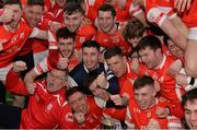 17 March 2017; Cuala players celebrate after the AIB GAA Hurling All-Ireland Senior Club Championship Final match between Ballyea and Cuala at Croke Park in Dublin. Photo by Piaras Ó Mídheach/Sportsfile