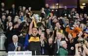 17 March 2017; Dr. Crokes captain Johnny Buckley lifts the Andy Merrigan Cup after the AIB GAA Football All-Ireland Senior Club Championship Final match between Dr. Crokes and Slaughtneil at Croke Park in Dublin.   Photo by Piaras Ó Mídheach/Sportsfile