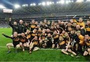 17 March 2017; Dr. Crokes squad celebrate after the AIB GAA Football All-Ireland Senior Club Championship Final match between Dr. Crokes and Slaughtneil at Croke Park in Dublin.   Photo by Piaras Ó Mídheach/Sportsfile