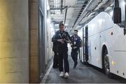 24 March 2017; James McCarthy of Republic of Ireland arrives ahead of the FIFA World Cup Qualifier Group D match between Republic of Ireland and Wales at the Aviva Stadium in Dublin. Photo by David Maher/Sportsfile