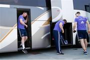 25 March 2017; Peter O'Mahony of Munster arrives for the Guinness PRO12 Round 18 match between Zebre Rugby and Munster Rugby at the Stadio Sergio Lanfranchi in Parma, Italy. Photo by Roberto Bregani/Sportsfile
